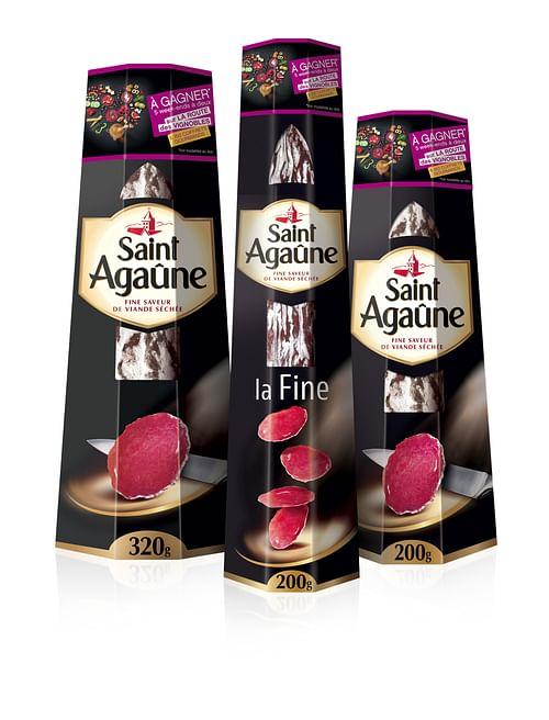 Saint Agaune Brand activation - Publicité