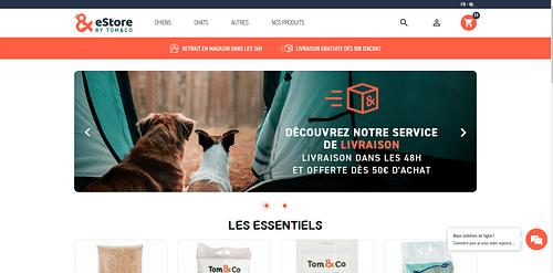 Tom&co - E-commerce