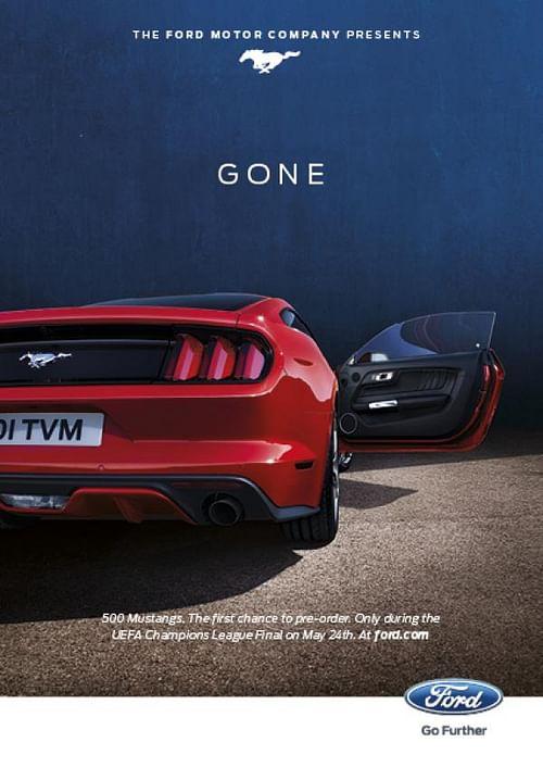 Mustang, 2 - Advertising