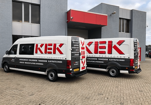 Online marketing & webdesign voor KeK B.V. - Reclame