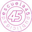 Escuela45 publicidad logo