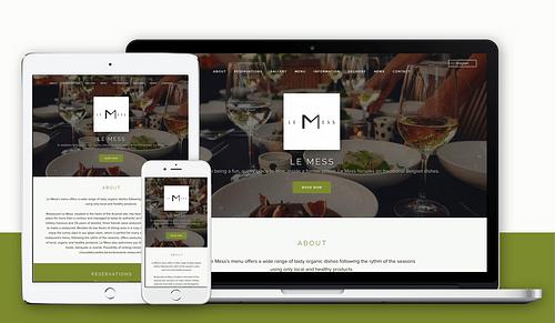 Création du site Internet pour Restaurant - Création de site internet