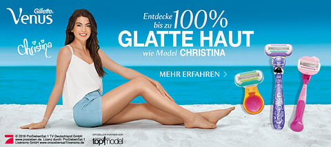 Gillette Venus Germany's Next Topmodel 2018