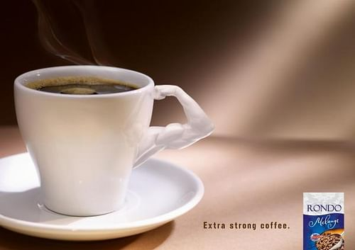 THE EXTRA STRONG COFFEE - Werbung