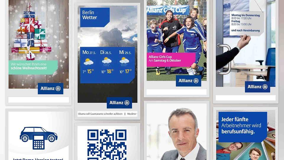 Pionierarbeit - Allianz digitale Schaufenster.