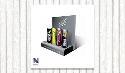 Création packaging Schweppes - Design & graphisme