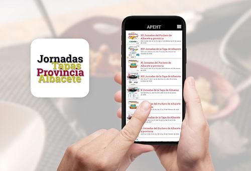 App Rutas de la Tapa Albacete - App móvil