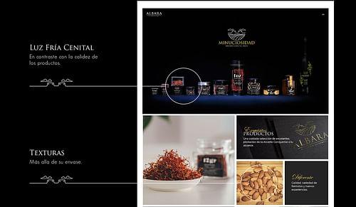 Branding, fotografía, UX y Web para Albara - Creación de Sitios Web