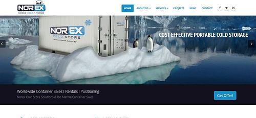 Norex | Business Services Web Design - Website Creation