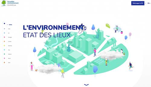 Bruxelles Environnement website - Ergonomie (UX / UI)