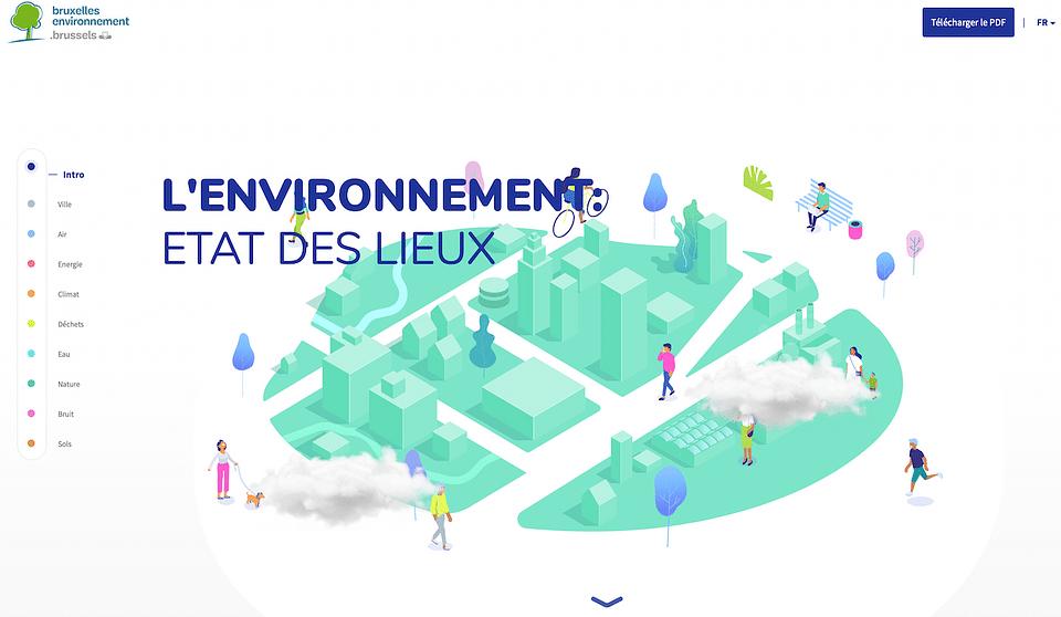 Bruxelles Environnement website