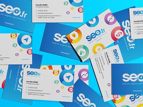 Création de l'identité visuelle Seo.fr - Image de marque & branding