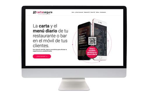 Web carta-segura - Creación de Sitios Web