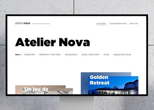 Atelier Nova - Création de site internet