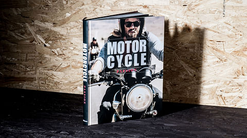 Motorcycle Passion Book – Editorial Design