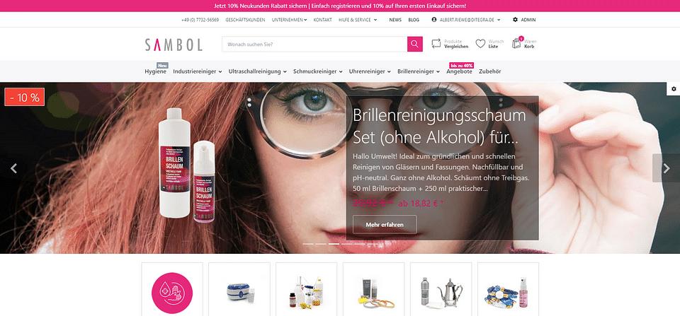 Sambol IBS smartstore.net Onlineshop