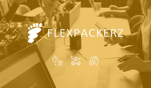 Flexpackerz - Make the world your office - Website Creation