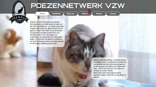 Poezennetwerk - Website Creatie