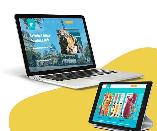 Accompagnement digital  (technique et éditorial) - Création de site internet