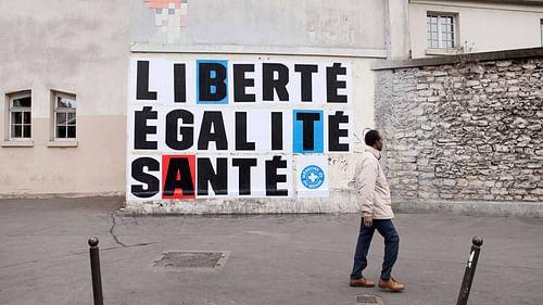 Liberté Égalité Santé - Publicité