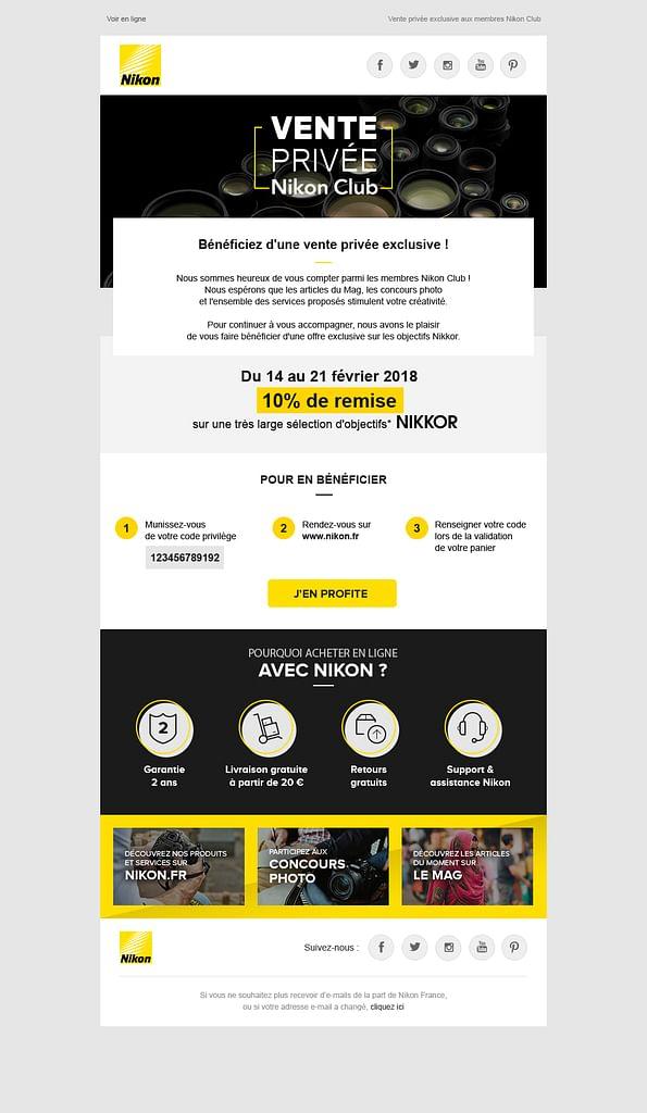 E-news Nikon France