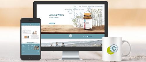 Anton & Willem - Création de site internet