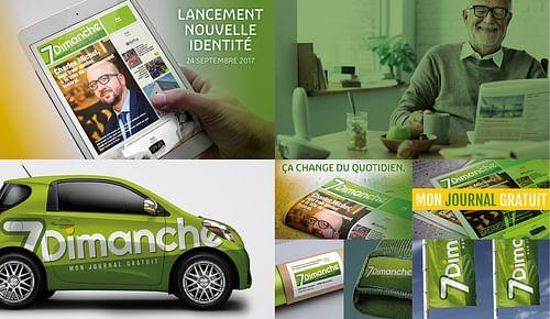 7 Dimanche - Image de marque & branding