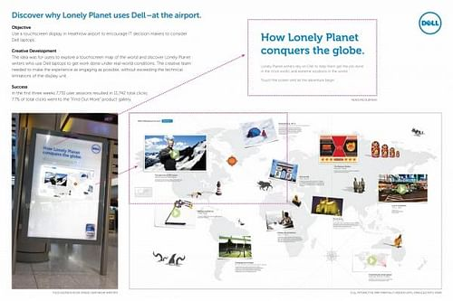 BUSINESS MOBILITY INTERACTIVE AIRPORT DISPLAY - Digital Strategy