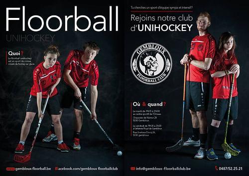 Sport - Affiches de recrutement - Design & graphisme