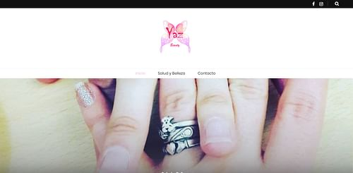 Crear página web Yacelly Beauty - Creación de Sitios Web