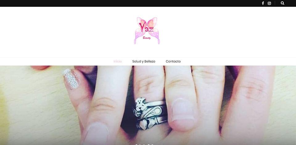Crear página web Yacelly Beauty