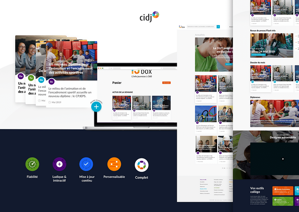 CIDJ : création du site IJ-Box