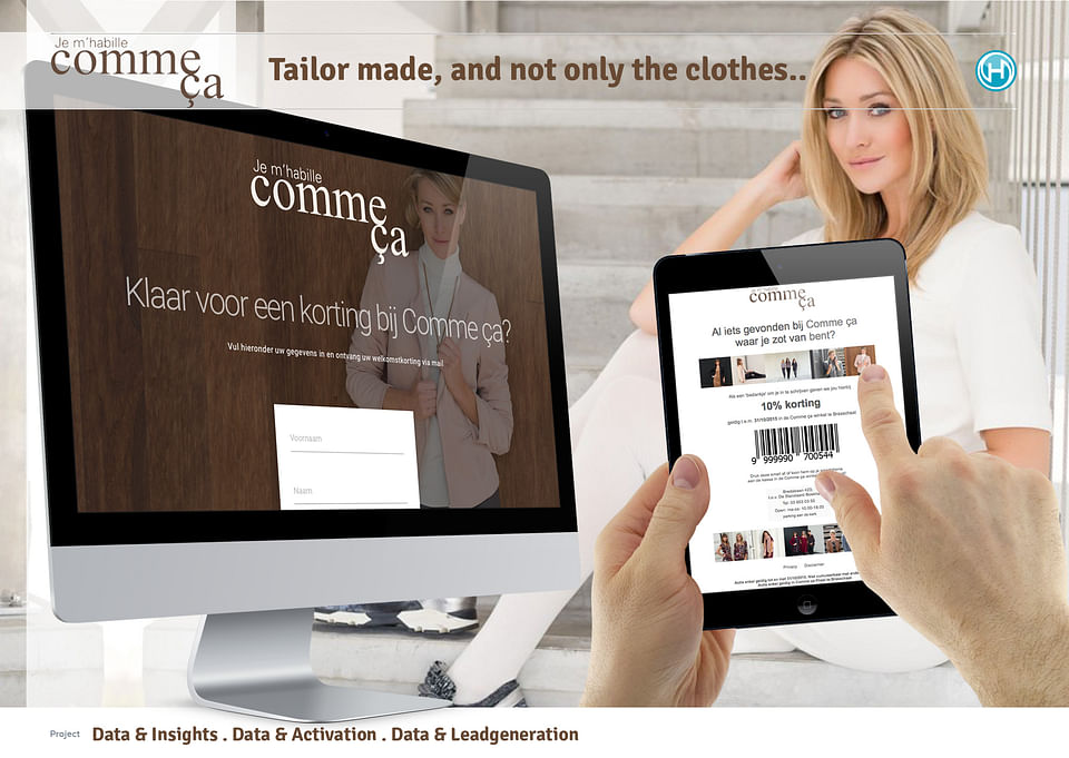 New website for a Fashion retailer