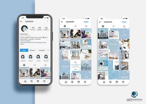 Estrategia 360   Redes sociales ZGZ Alquila - Estrategia digital