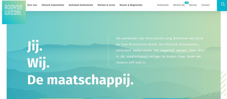 Één volledig nieuw design: van drie sites naar één