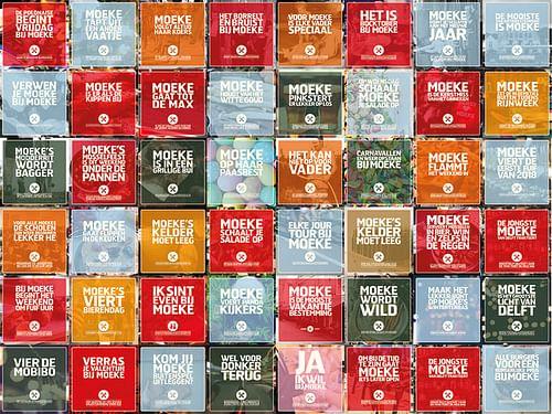 Campagne Moeke Keuken & Bar - Branding & Positionering