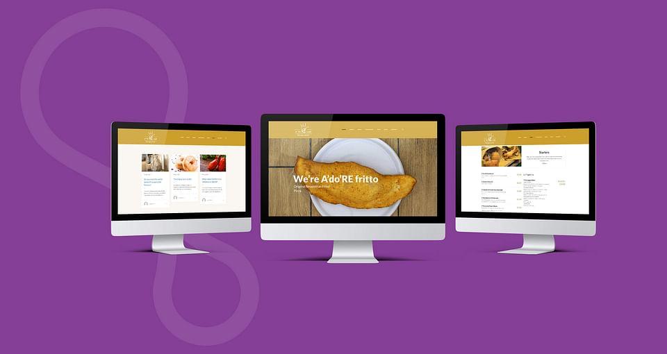 Web Design, Development  for UK Restaurant