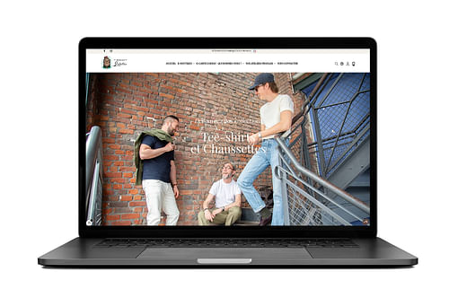 Site e-commerce - MONSIEUR LOUTRE - Création de site internet
