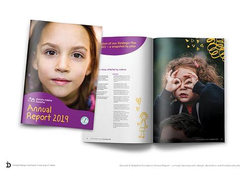 Annual Report - Graphic Design