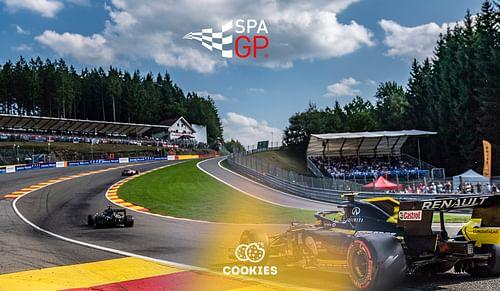 Spa Grand Prix F1 - Social Media - Réseaux sociaux