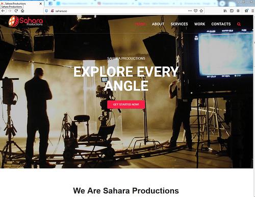 Sahara website design - SEO