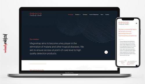 Soutenir les chercheurs de Magnetrap - Website Creatie