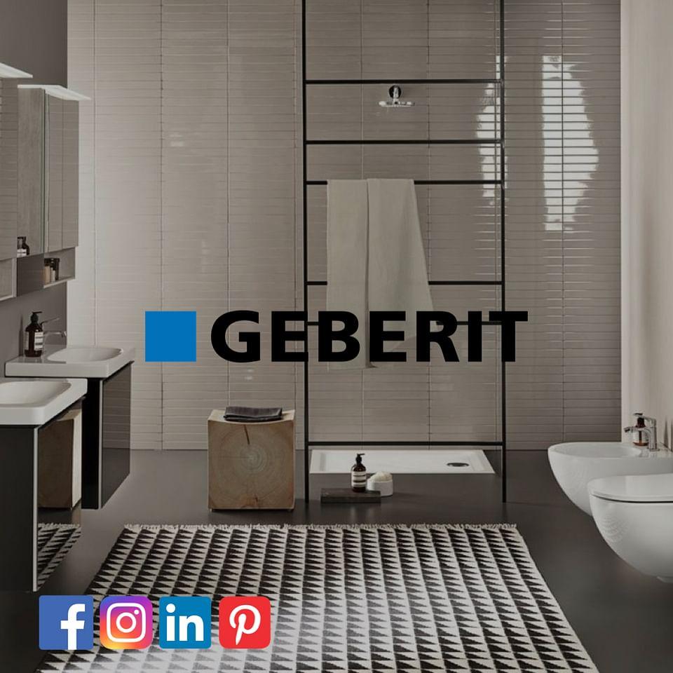 Geberit Belgium social media presence