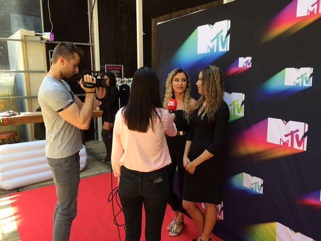 Media and influencer event MTV