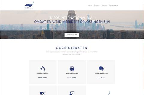 Tasos International: Website
