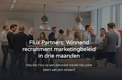 Winnend recruitment marketingbeleid in 3 maanden - Website Creatie