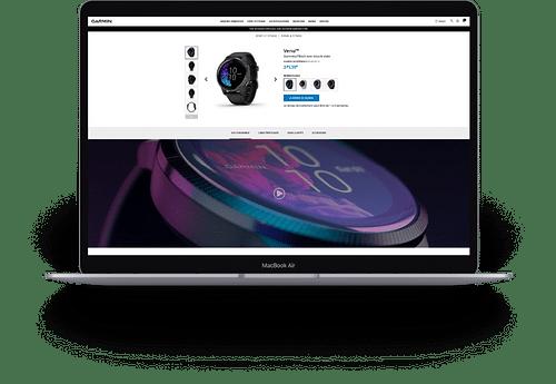 Garmin - Création  site web - Création de site internet