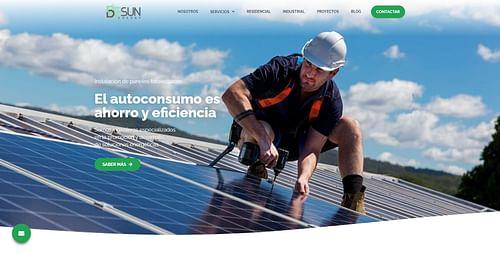 SEO y Web Energía Renovable - Creación de Sitios Web