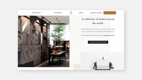 Site web - MGallery - Création de site internet
