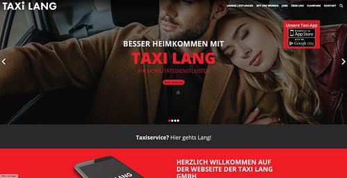 https://www.taxilang.de - Webanwendung
